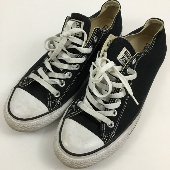 4665a21abfb6 Converse Other - Converse Low Top Chuck Taylors Black White Sneaker